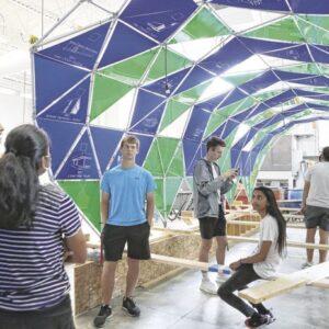 Exhibit Columbus high school design and build teams prepare to debut 'Tunnel Vision
